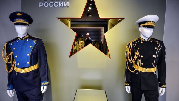 «Armée de Russie» présente des vestes de hussards serties de cristaux Swarovski - Sputnik France