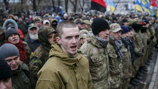 Manifestation de Maïdan, Kiev, Ukraine, 2014 - Sputnik France