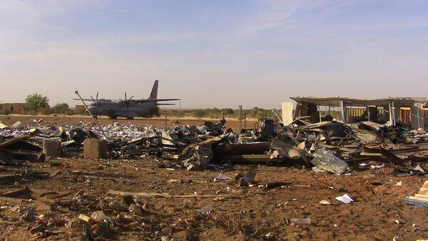 Selbstmordattentat auf dem Territorium eines UN-Stützpunktes am Flughafen der Stadt Gao im Norden Malis - Sputnik France