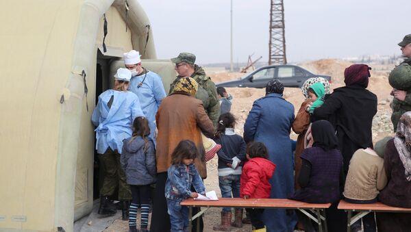 Réfugiés en Syrie - Sputnik France