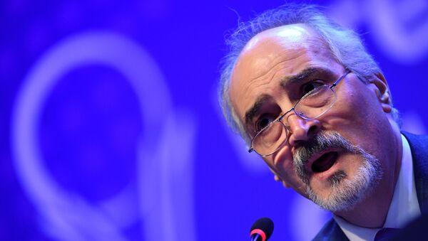 Le représentant syrien à l'Onu, Bachar Jaafari - Sputnik France