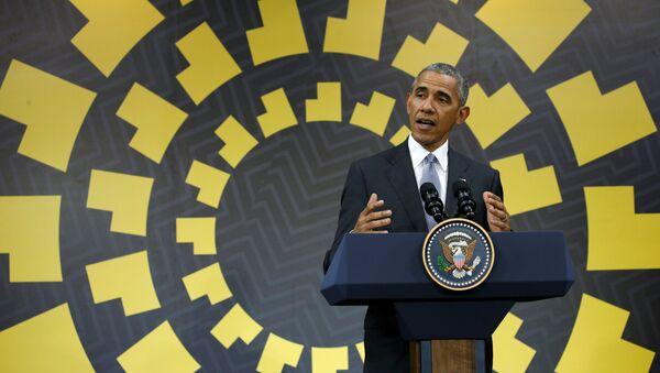 U.S. President Barack Obama holds a press conference at the conclusion of the APEC Summit in Lima, Peru November 20, 2016. - Sputnik France