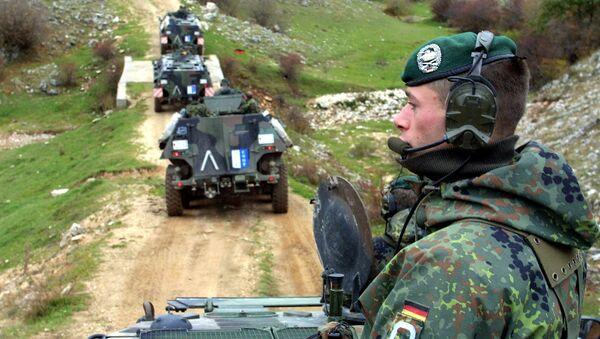 Bundeswehr troops operating as part of a NATO mission Bosnia, 2001. - Sputnik France
