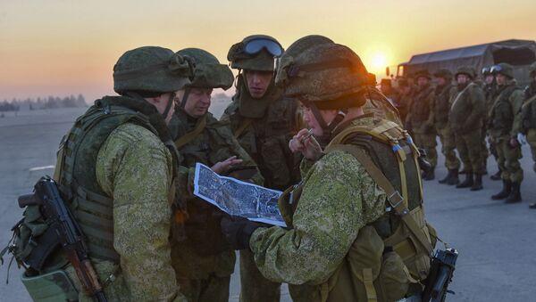 Des militaires russes en Syrie (image d'illustration) - Sputnik France