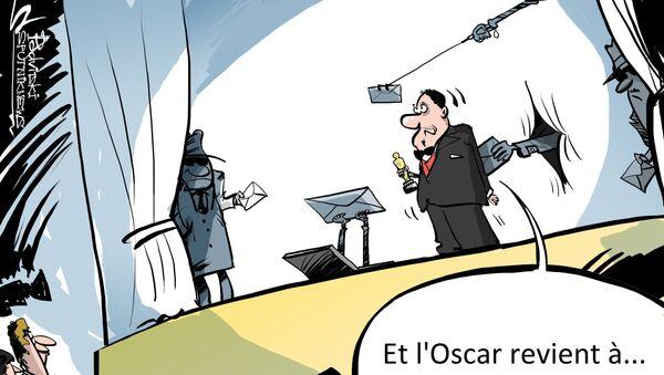 La Main du Kremlin s'introduit à la cérémonie des Oscars - Sputnik France