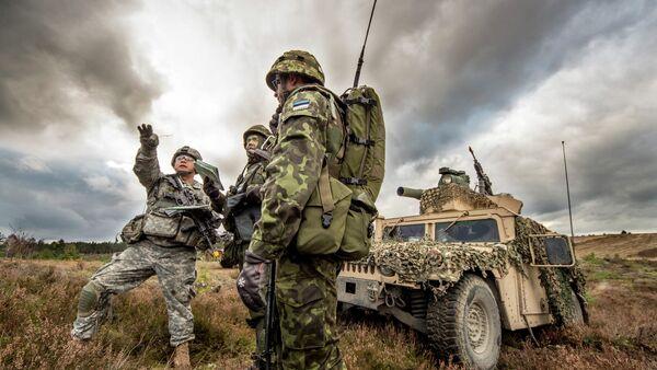 US, Estonian partners train together - Sputnik France