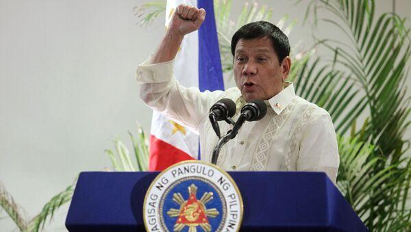Der philippinische Präsident Rodrigo Duterte - Sputnik France