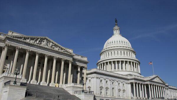 Le bâtiment du Congrès US - Sputnik France