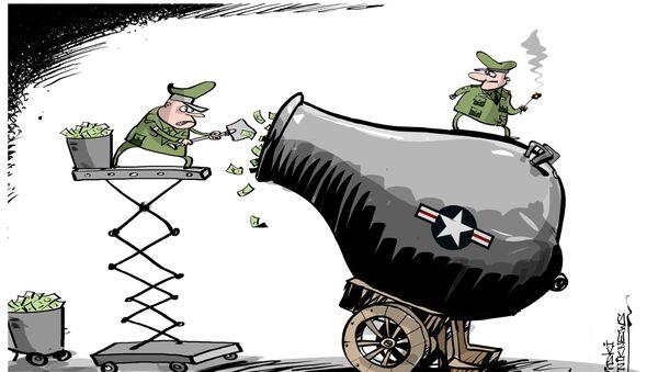 Trump porte l'augmentation des dépenses militaires de 54 à 84 mds USD - Sputnik France