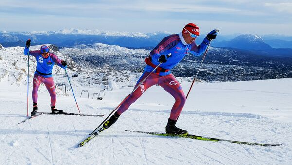 Ski. Le camp d'entraînement de l'équipe nationale - Sputnik France