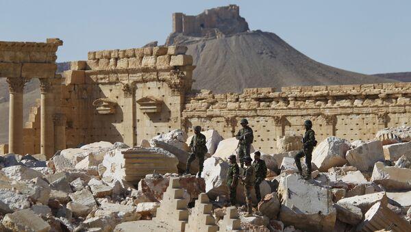L'armée syrienne reprend le contrôle d'une station de pompage de pétrole près de Palmyre - Sputnik France