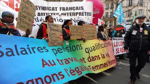 la Journée internationale des droits des femmes - Sputnik France