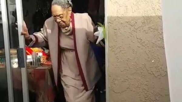 Pour ses 100 ans, elle danse comme jamais - Sputnik France