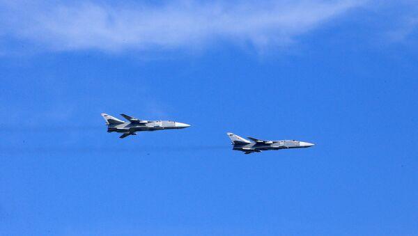 Des bombardiers russes Su-24 - Sputnik France