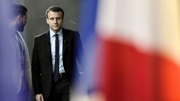Emmanuel Macron, candidato presidencial de Francia - Sputnik France