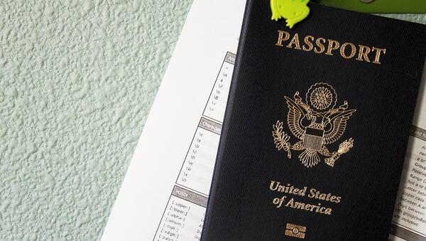 Un passeport américain - Sputnik France