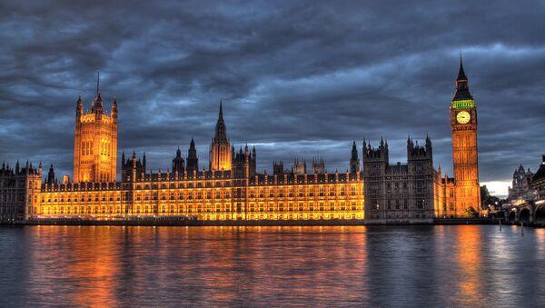 Le siège du parlement britannique - Sputnik France