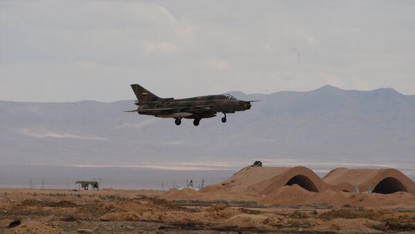 L'avion de l'armée de l'air syrienne - Sputnik France