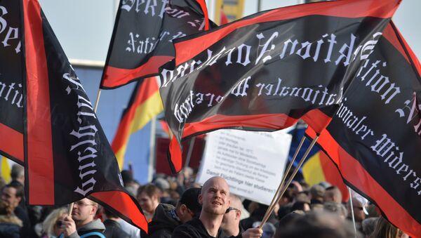 Merkel muss weg-Demo in Berlin - Sputnik France
