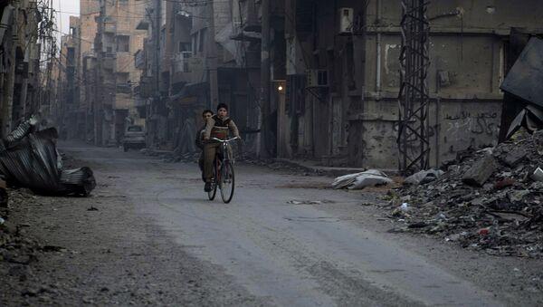 Syrische Stadt Deir ez-Zor - Sputnik France
