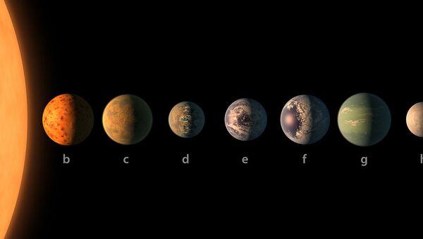 Le système planétaire TRAPPIST-1 - Sputnik France
