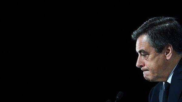 Le candidat à la présidentielle française François Fillon - Sputnik France