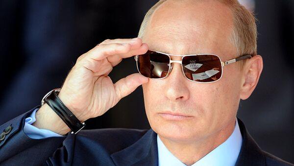 Poutine se prépare-t-il à sa poignée de main avec Trump? Peskov perplexe - Sputnik France