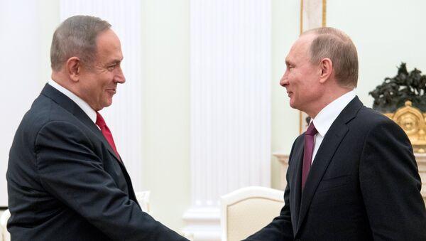 Netanyahou et Poutine - Sputnik France