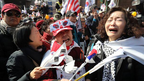 Désordres à Séoul: deux morts - Sputnik France
