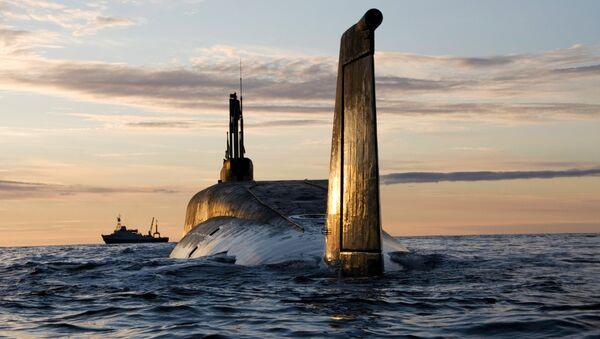 Sous-marin nucléaire russe Iouri Dolgorouki - Sputnik France