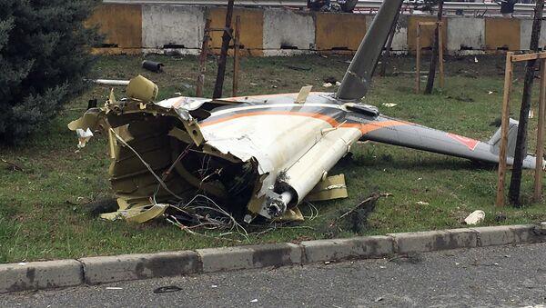 Crash d'un hélicoptère à Istanbul - Sputnik France