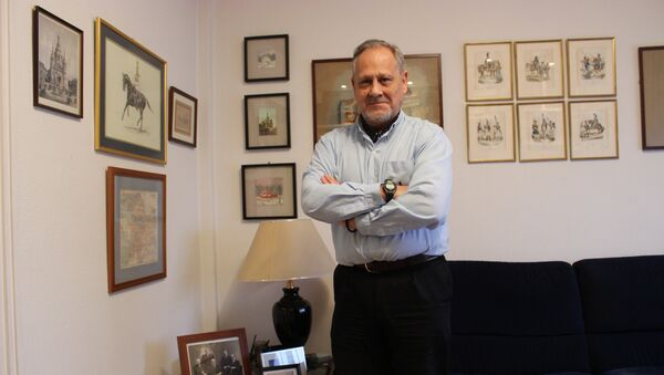 Eugenio Nikitich Dobrynin, en su casa en Madrid - Sputnik France