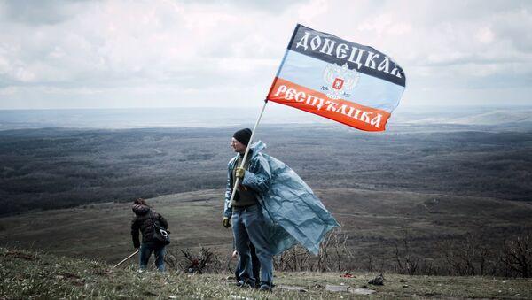 La République populaire de Donetsk transforme la ligne de contact en frontière nationale - Sputnik France