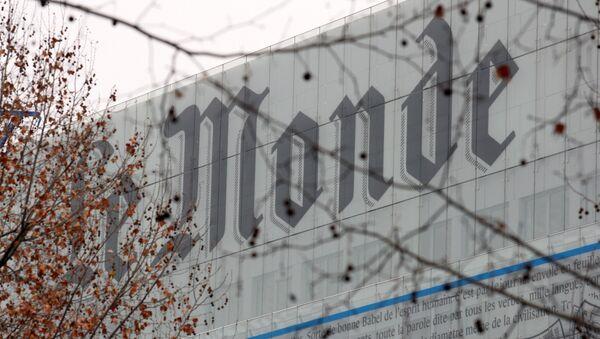 Le Monde - Sputnik France
