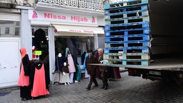 Магазин хиджабов в Брюсселе - Sputnik France