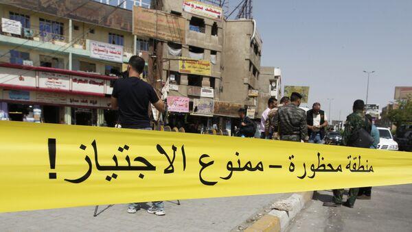 Las explosiones en Bagdad - Sputnik France