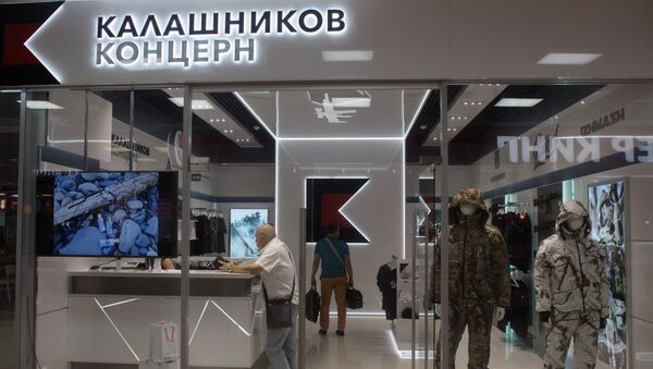 Concern Kalashnikov opens its store at Sheremetevo Airport - Sputnik France