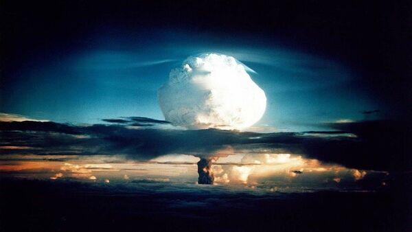 L'explosion d'une bombe nucléaire. - Sputnik France