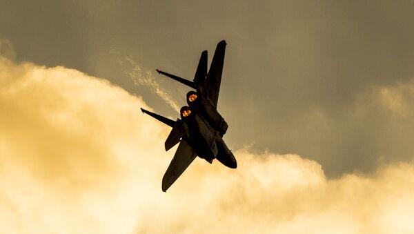Un avion de combat F-15 israélien - Sputnik France