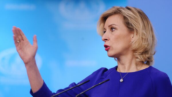la porte-parole du ministère Maria Zakharova - Sputnik France