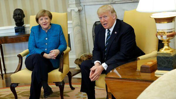 Selon Trump, l'Allemagne doit à l'Otan et aux USA «de vastes sommes d'argent» - Sputnik France