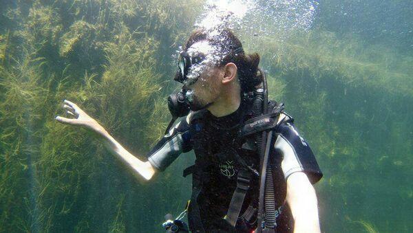 Repousser les limites du possible: comment un handicapé est devenu plongeur (photos) - Sputnik France