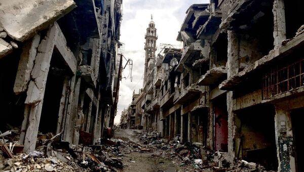 Homs ruinée par la guerre - Sputnik France
