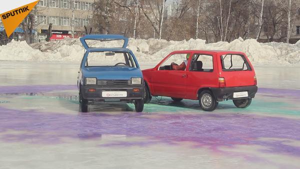 Le curling comme vous n'avez jamais osé l'imaginer! - Sputnik France