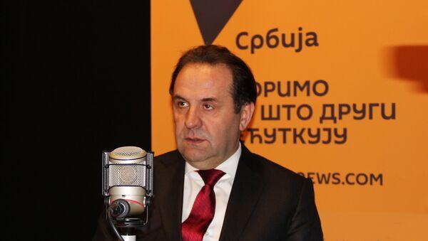 Le vice-Premier ministre serbe Rasim Ljajic - Sputnik France