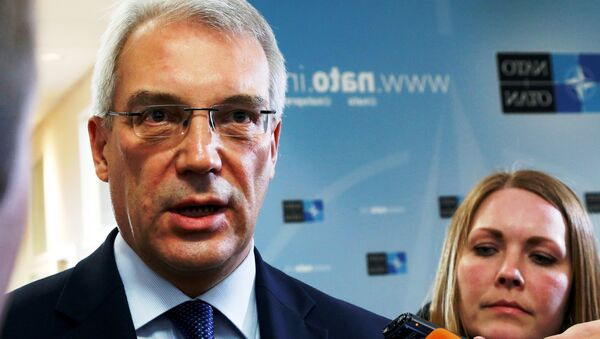 Alexandre Grouchko, ambassadeur de Russie auprès de l'Otan - Sputnik France