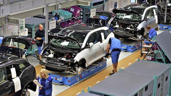 Une usine BMW en Allemagne perd 1 M EUR à cause de deux ouvriers ivres - Sputnik France