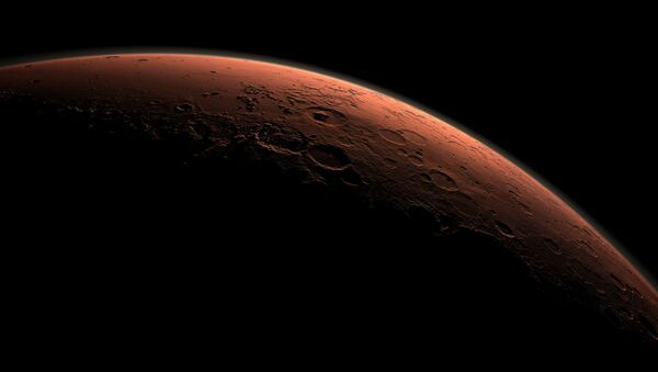 Планета Марс на восходе - Sputnik France