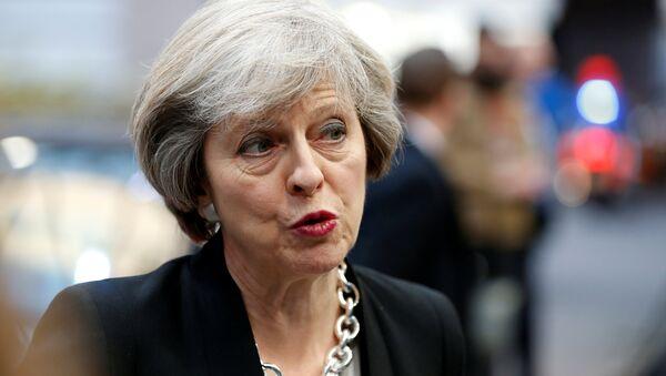 La Première ministre britannique Theresa May - Sputnik France