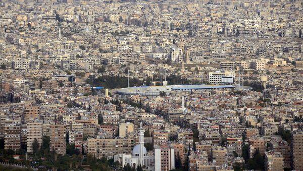 Вид на Дамаск с горы Кассион - Sputnik France